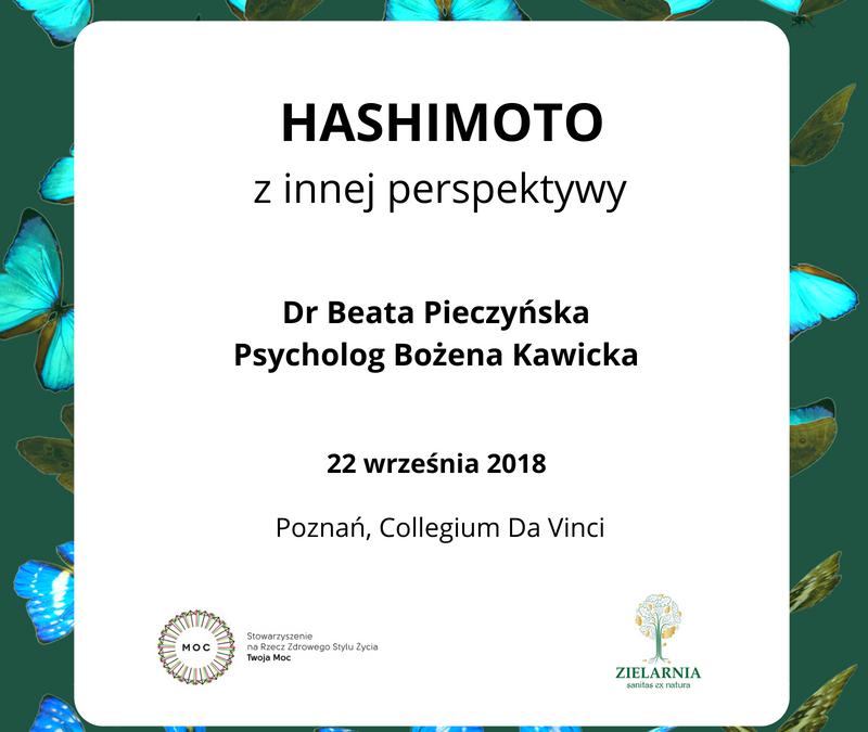 HASHIMOTO z innej perspektywy – Konferencja w Poznaniu
