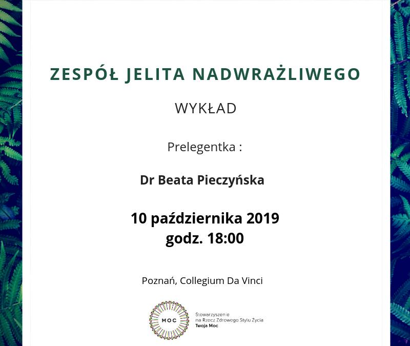 Zespół Jelita Nadwrażliwego – wykład w Poznaniu