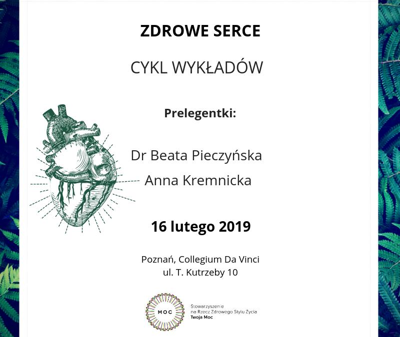 Zdrowe serce – cykl wykładów w Poznaniu