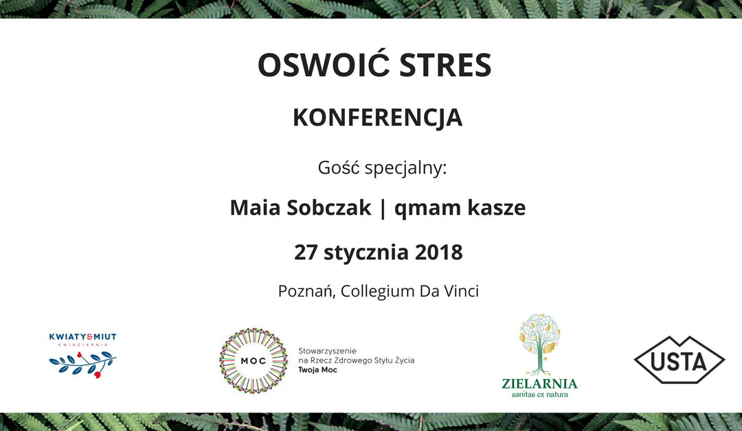 OSWOIĆ STRES – Konferencja w Poznaniu