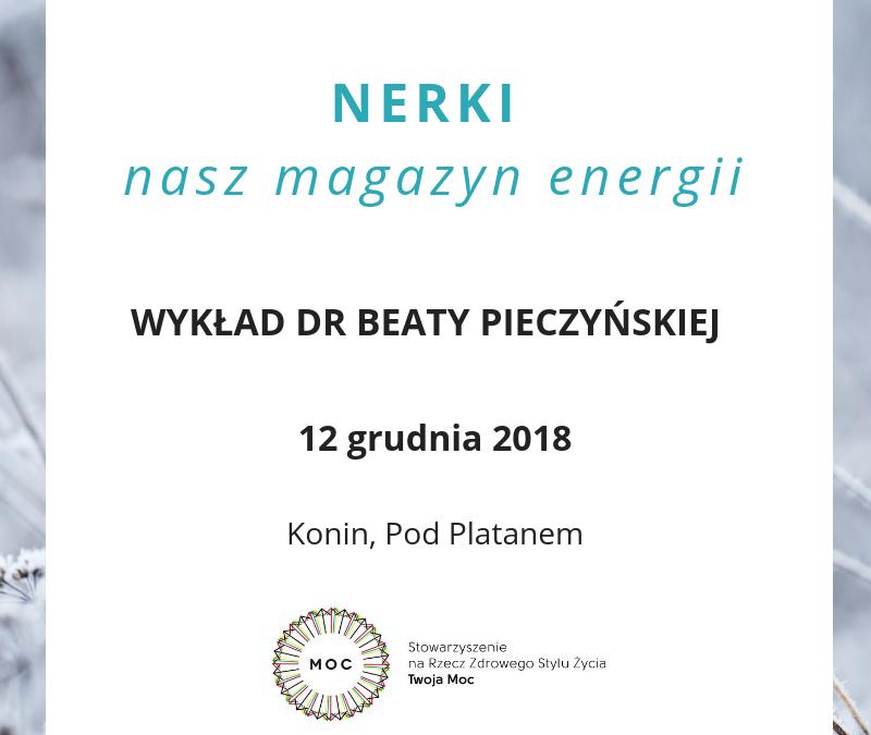 NERKI – nasz magazyn energii – wykład w Koninie